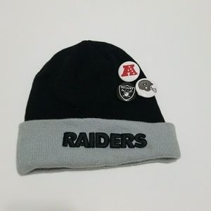 4/$25 New ERA NFL Raiders Skully Knit Cap